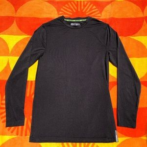 Black RBX Training/Workout Long Sleeve Shirt